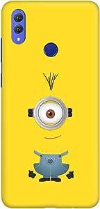 Stylizedd Huawei Honor 8X Max Slim Snap Basic Case Cover Matte Finish - Minion 1