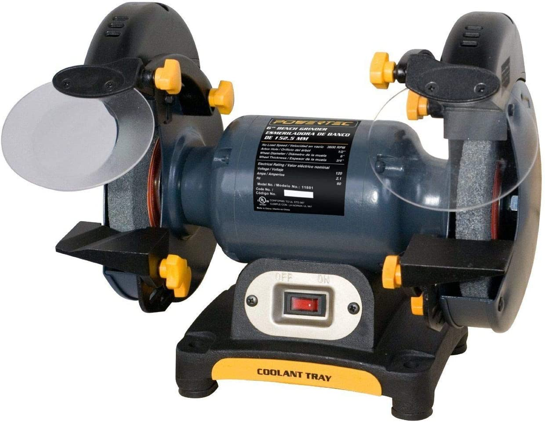 POWERTEC BG600 Bench Grinder