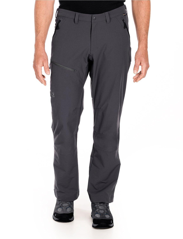 GreyDark Steel (2) 102 EU Jack Wolfskin Men's Softshell Trousers