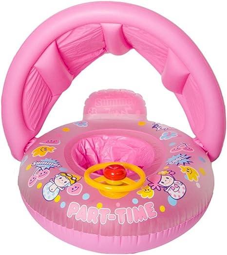 Parasol acolchado para bebé 66 x 29 x 16 cm, piscina para bebé de ...