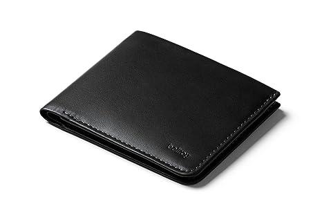 Bellroy Square Wallet, Cartera de Piel Slim (máx. 12 Tarjetas y Billetes extendidos