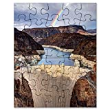 hoover dam puzzle - CafePress - Hoover Dam - Jigsaw Puzzle, 30 pcs.