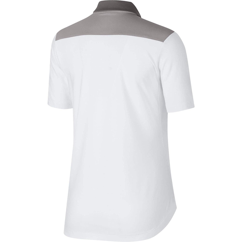 Nike 929505, Polo para Mujer, (Blanco 100), Small (Tamaño del ...