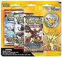 Pokemon TCG : Legendary Birdsブリスターパックcontaining 3ブースターパックとfeaturing Zapdos、Articuno、またはファイヤー(ポケモン) Collector `s Pinの商品画像