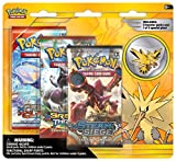 Pokemon TCG: Legendary Birds Blister Pack Containing 3 Booster Packs and Featuring Either A Zapdos, Articuno, Or Moltres Collector's Pin