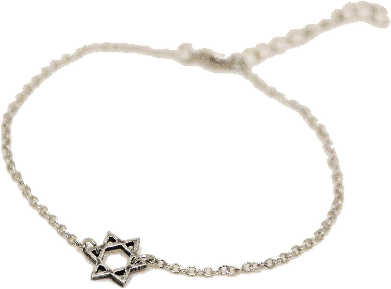 4 Star of David Glass Beads Light Salmon Jewelry Supplies Jewish Hebrew Jewelry