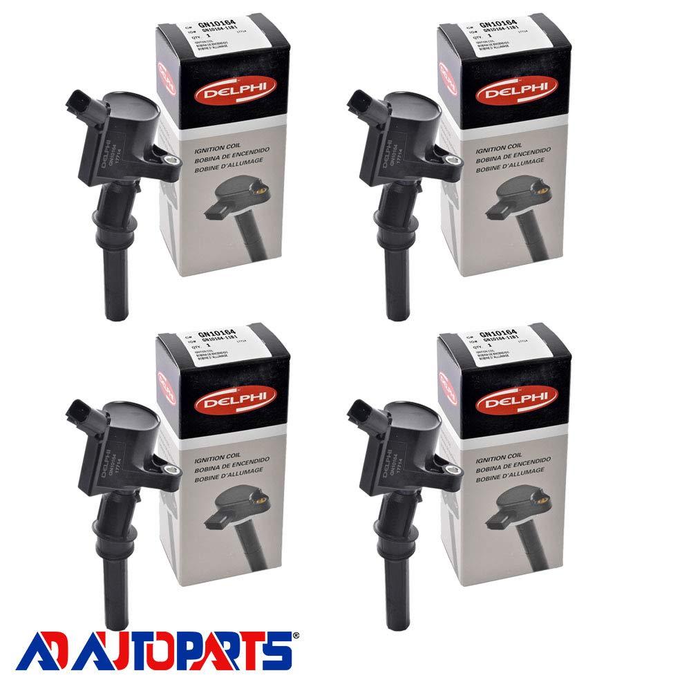 Amazon.com: New Motorcraft Spark Plug SP413 + Delphi Ignition Coil GN10164: Automotive