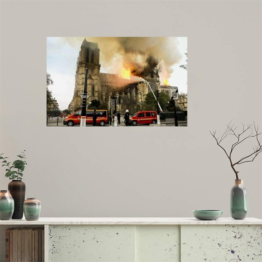 Tianya Cartel de Notre Dame de Paris,Decoración del hogar ...