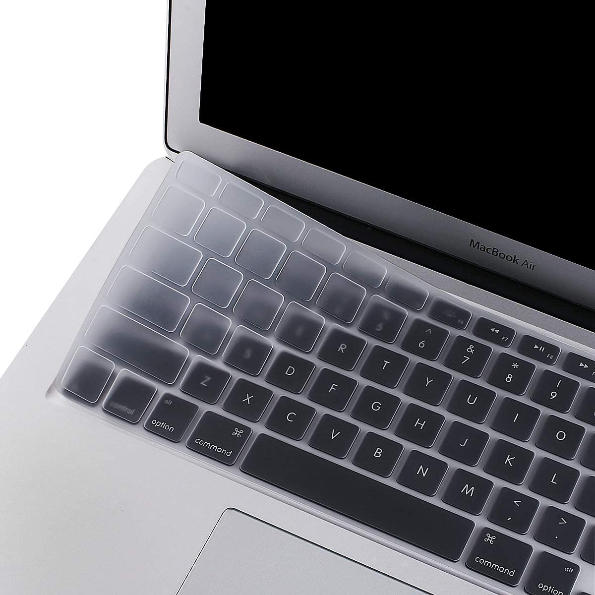 MOSISO Silicone Keyboard Cover Compatible with MacBook Pro 13/15 Inch (with/Without Retina Display, 2015 or Older Version),Older MacBook Air 13 Inch (A1466 / A1369, Release 2010-2017), Clear
