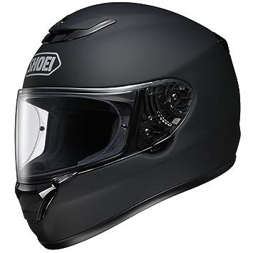 Shoei Qwest Plain negro mate casco de moto