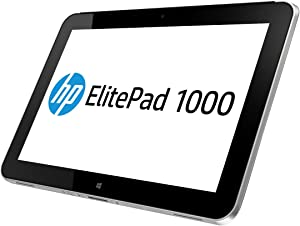 "HP Elitepad 1000 G2, 10.1"" Windows Tablet, 64 GB, Black/Silver (G4T13UT#ABA)"