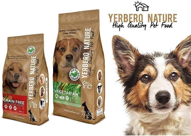 YERBERO Nature Grain Free Puppy Comida SIN Cereales para Cachorros 2,5kg
