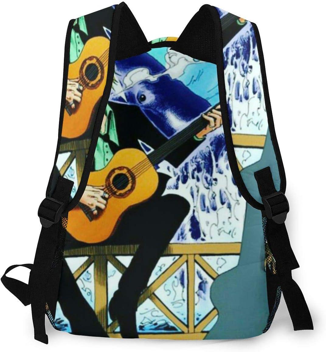 Laptop Bag Sports Traveling Daypack 16 x 11.5 x 8 in Vinsmoke Sanji School Backpack for Girls and Boys
