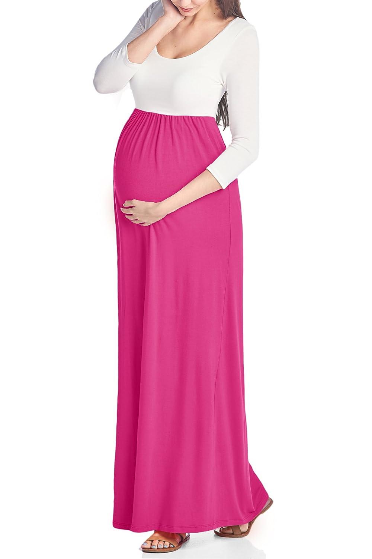Beachcoco DRESS レディース B075SK2LS5 Medium|Ivory / Hot Pink Ivory / Hot Pink Medium