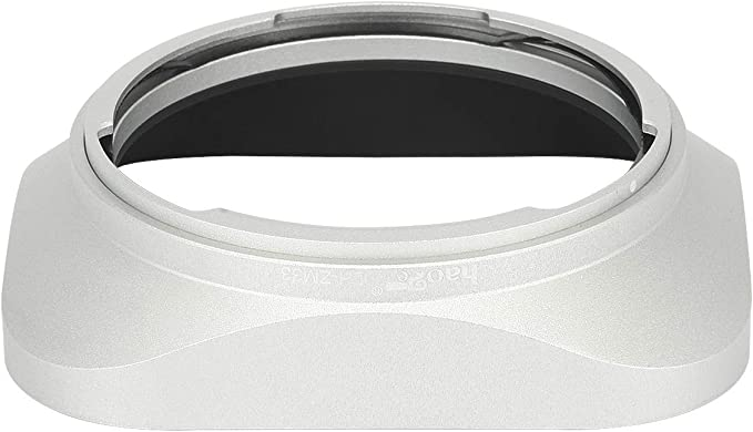 Haoge LH-ZM33 Bayonet Metal Square Lens Hood Shade Compatible with Carl Zeiss Distagon T 1.4//35 35mm f1.4 f//1.4 ZM Lens Silver