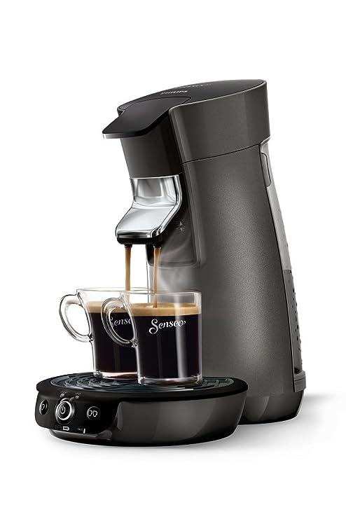 Philips Senseo Viva Café - Cafetera monodosis, color gris oscuro ...
