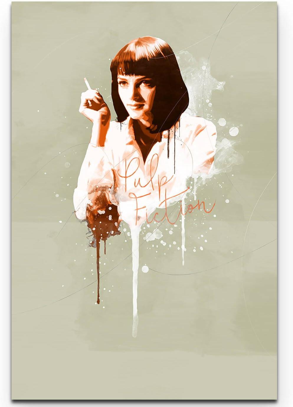 Paul Sinus Art Pulp Fiction MIA Wallace 90 x 60 cm Splash – Cuadro ...