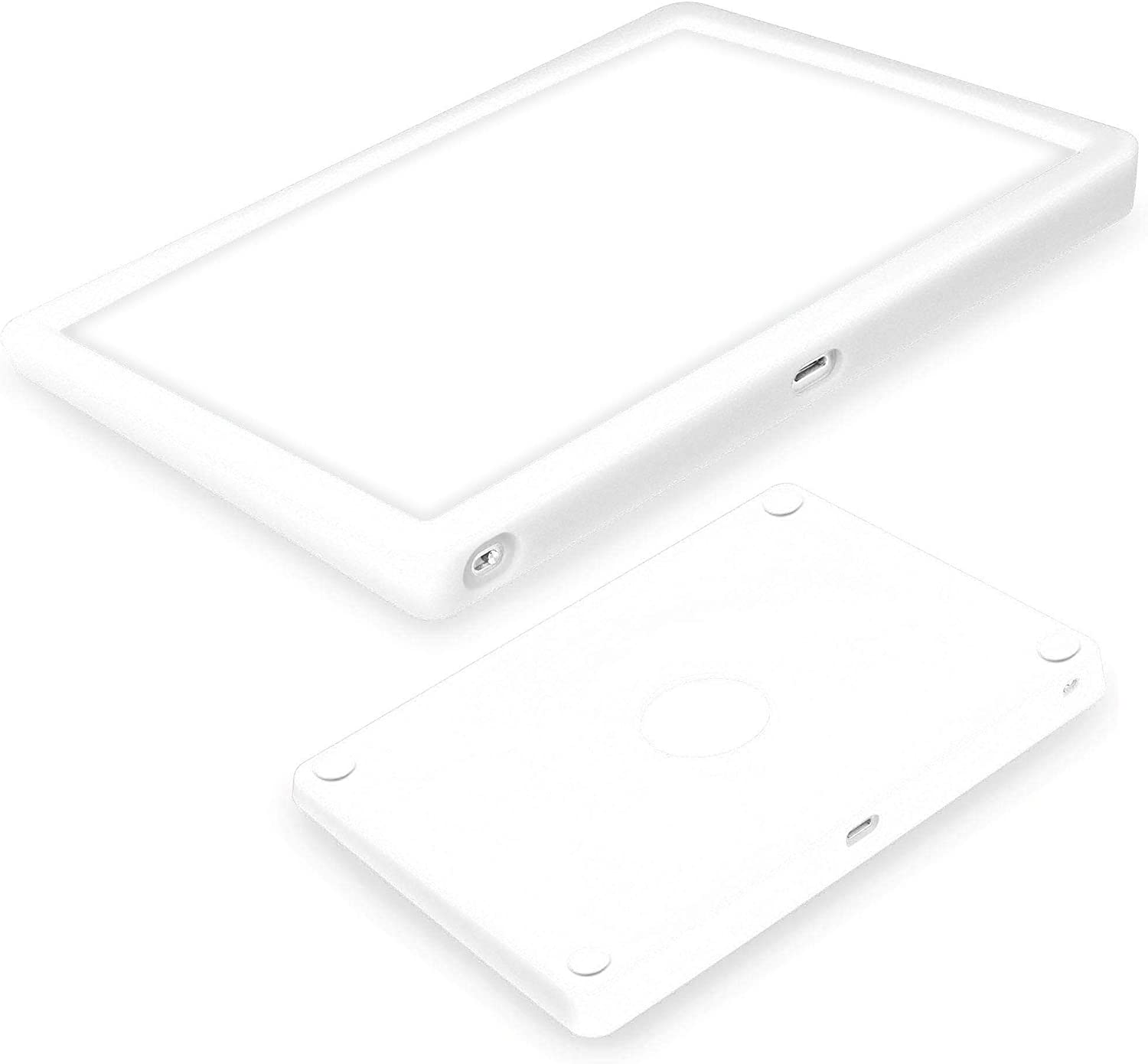 Silicone case for Magic Trackpad 2 Silicon case for Apple Wireless Touchpad Apple Trackpad Protective Cover,Anti-dust and Anti-Scratch Washable Wear-Resistant Silicone Skin (White)