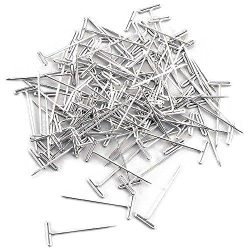 Pasadores en T de acero Hobbico de 1 pulgada (100 piezas)