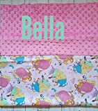 Disney Princess Kinder Nap Mat Cover, Cinderella,Belle,Snow White, Back to school, Kindergarten cover