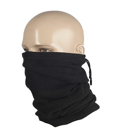 M-Tac Neck Warmer Fleece 260 Gaiter Heavyweight Winter Head Scarf Face Mask  Black (Black) at Amazon Men s Clothing store  3c2cd8dfa29
