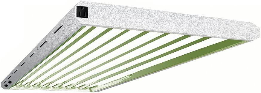 Sunleaves Pioneer T5 Fixture w/ VitaLume Fluorescent Grow Tubes
