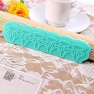 Classic flor instant nea molde de silicona fondant encaje mold hogar - Moldes silicona amazon ...