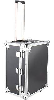 Caja de transporte IQE-Storage TB-2R con ruedas y empuñadura telescópica, largo