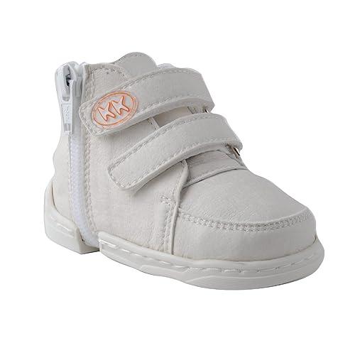 48ec067b8 KK KK-Sneaker - Zapatos Primeros Pasos de Sintético para Niño  Amazon.es   Zapatos y complementos
