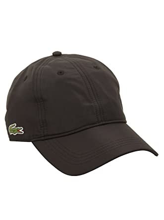 804a5447173 Lacoste Men s Sports Cap in Black O S M US  Amazon.in  Clothing ...