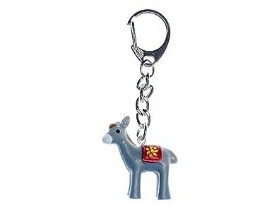 Miniblings Burro llaveros Mula Animales con pezuñas del ...