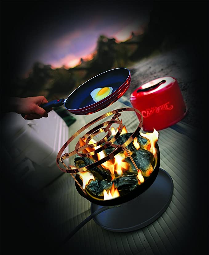 Amazon Com Camco 58033 Little Red Campfire Cook Top Automotive