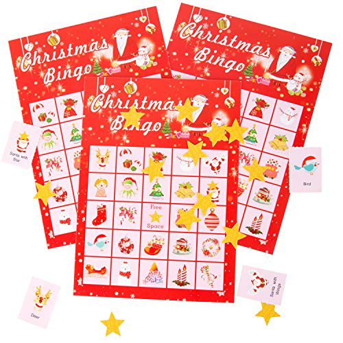 (Valentine's Day Bingo Game Cards for Kids Class Party Supplies Activity - for up to 24 Players)