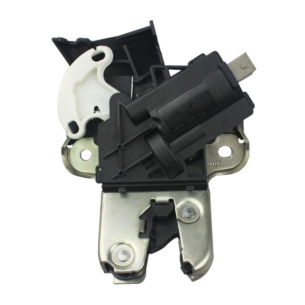 Rear Trunk Lid Lock Latch For Audi A4 A5 A6 A8 S4 S6 VW 4F5 827 505 D