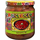 Amy's Medium Salsa -- 14.7 oz