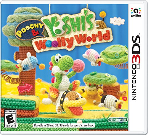 Poochy   Yoshis Woolly World   Nintendo 3Ds Standard Edition