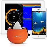 FH-001 アルタイムソナー ポータブル 魚群探知機(iPhone/iPad/Android 4.0対応) FishHunter 社【並行輸入】