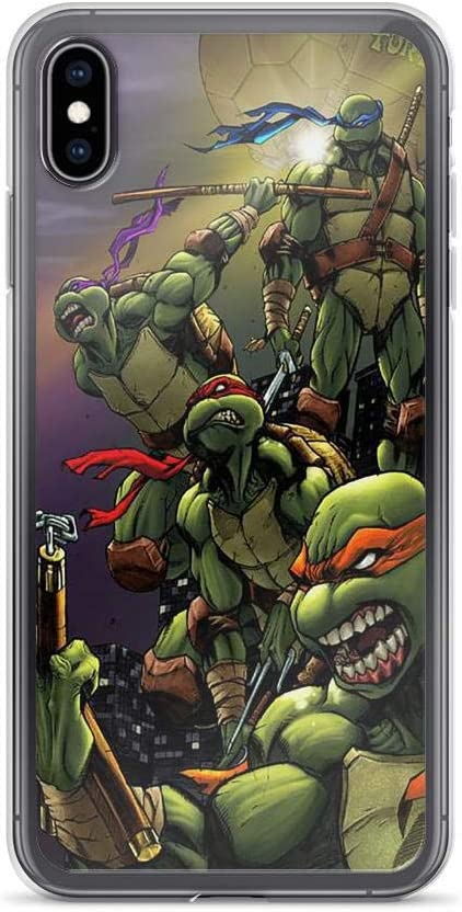 Spawn And TMNT iphone case