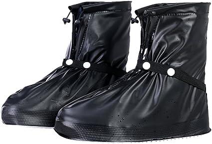 New Reusable Waterproof Rain Snow Shoe Covers Overshoes Anti-slip Rain Boot Gear