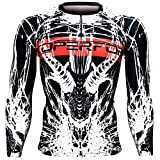 Btoperform Compression Rash Guard Full Graphic Base Layer Shirts Devil Horn [FX-122]