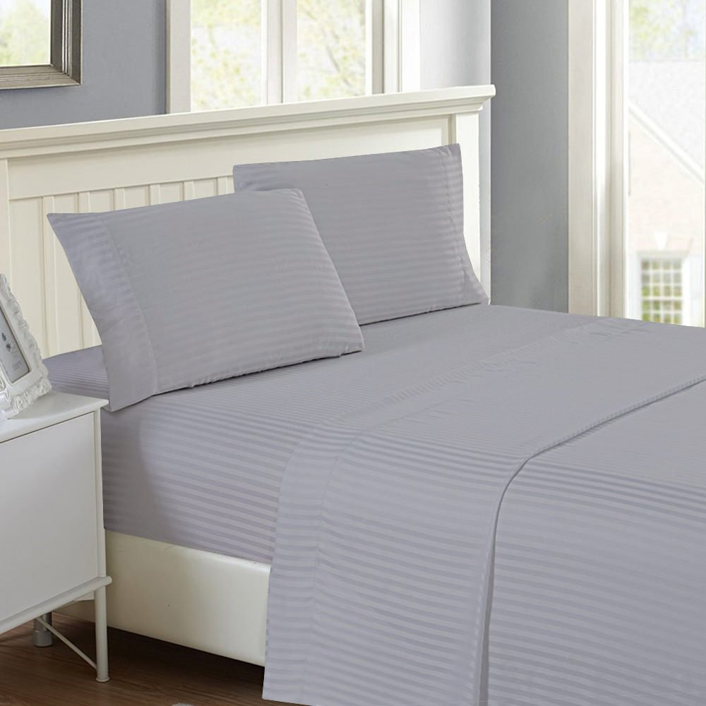 Beige Solid RV Camper /& Bunk Bed Sheet Set 1000 TC 100 Percent Egyptian Cotton