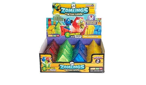 ZOMLINGS IN THE TOWN (SERIE-2) CASA+2MUÑECO (12UNIDADES): Amazon.es: Juguetes y juegos