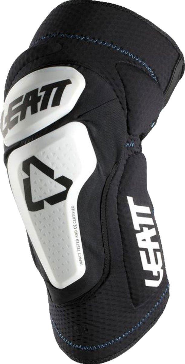 Leatt 3DF 6.0 Knee Guards-White/Black-L/XL