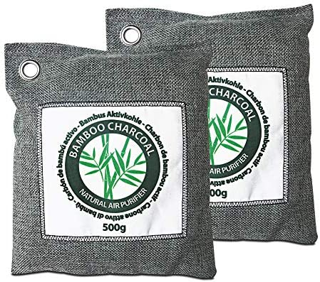 Stimio Purificador Natural de Aire. Carbón de bambú Activo (2x500g ...