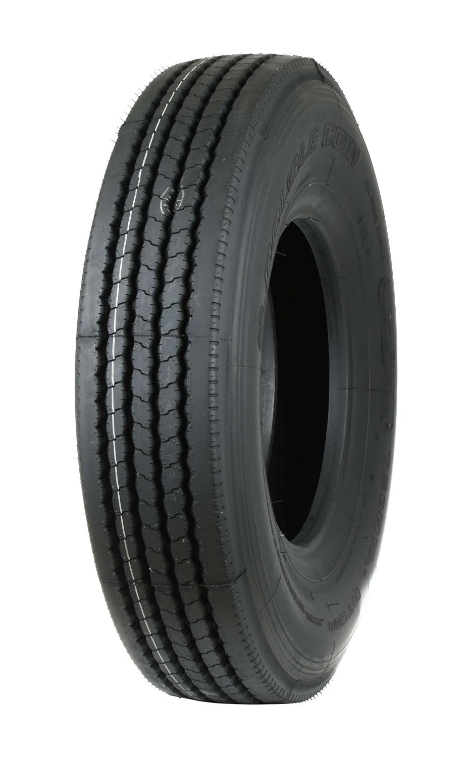 Double Coin 1133396795 RT500 Premium Low Profile All-Position Multi-Use Commercial Radial Truck Tire - 235/75R17.5 16 ply