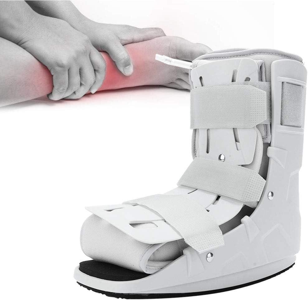 Férula plantar Ortesis para andador, órtesis de pie Soporte duradero para correa de tobillo, para fracturas de pie y tobillo Esguince de tobillo severo(S 32-38)
