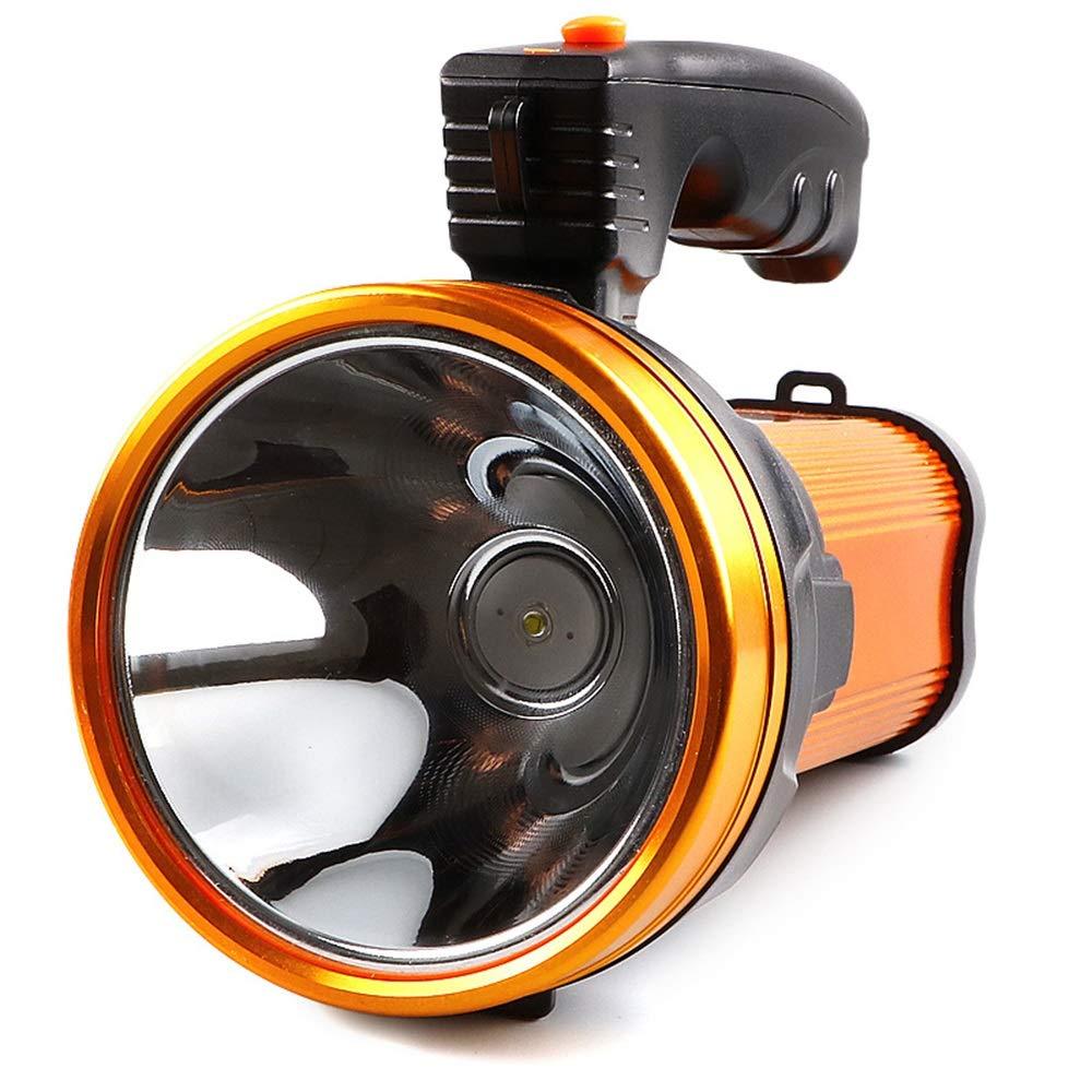 CHA Starke Lichtscheinwerfer Outdoor Aluminiumlegierung 800m Reichweite Multifunktions-Home Camping Beleuchtung