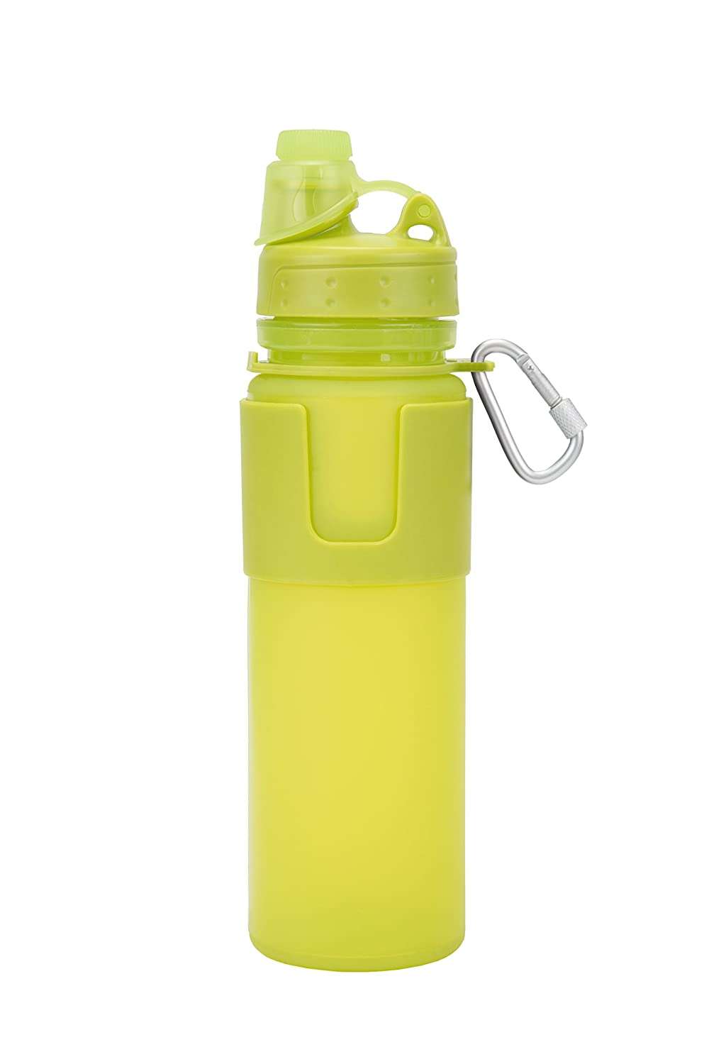 Travelon Flexible Water Bottle Travel Accessory, Lime 13049 410