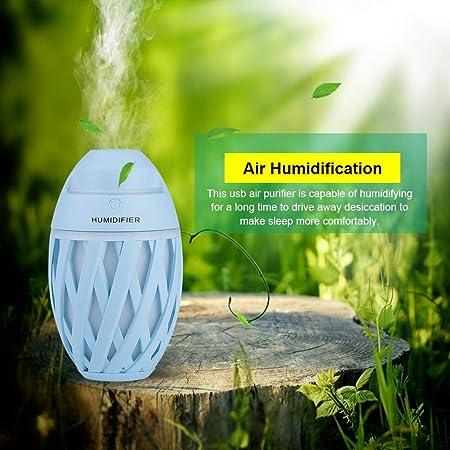 Diyeeni - Purificador de Aire USB con Luces LED de respiración ...