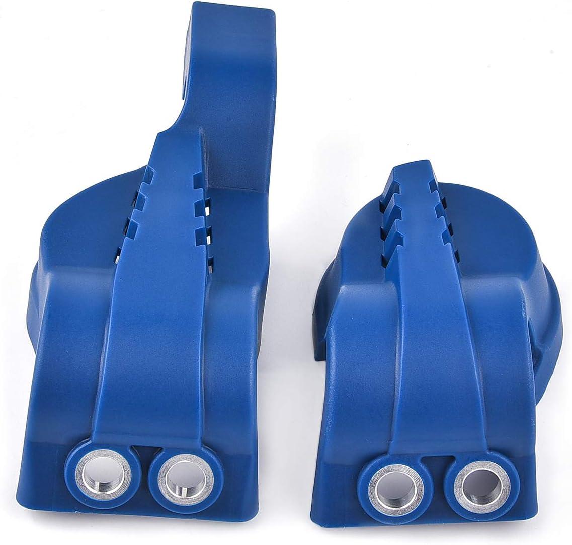 WP Kit de protector para zapatos de horquilla de repuesto para FE FC TE TC 125 250 300 350 EXC Motocross Dirt Pit Bike azul